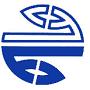 Кружок лого синий